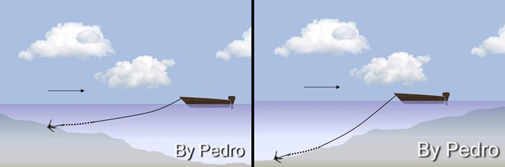 ormeggi in pesca